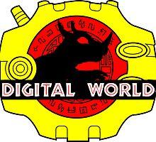 Digital World (Black) by AniMayhem