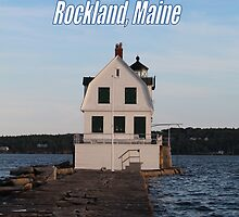 Rockland's Breakwater Lighthouse by MarquisImages