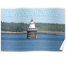 Lebec Channel Lighthouse Poster