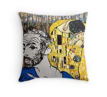 After Klimt Throw Pillow