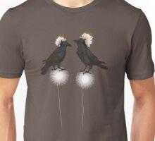 Perching Ravens Unisex T-Shirt