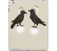 Perching Ravens iPad Case/Skin