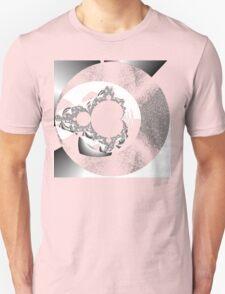 Untitled IX - White on black T-Shirt