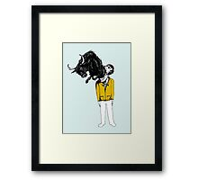 What is Likely to Happen When One is Full of Bull Framed Print