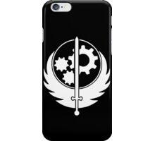 Fallout 4 - Brotherhood of steel - White iPhone Case/Skin