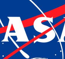 NASA LOGO FALC Sticker