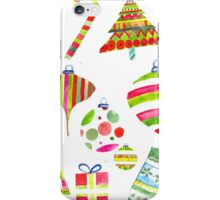 A Colorful Christmas iPhone Case/Skin