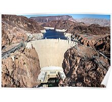 Hoover Dam - Lake Mead Poster