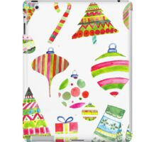 A Colorful Christmas iPad Case/Skin