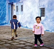 Curiosity - Chefchaouen, Morocco by Martin Stringer