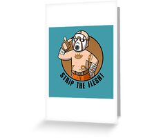 Psycho Boy 2 Greeting Card