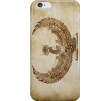 Isis Papyrus - Egyptian Art iPhone Case/Skin