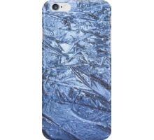 Nature sculptured blue ice figures iPhone Case/Skin