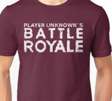 H1Z1 - Battle Royal White Unisex T-Shirt