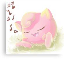 JigglyPuff Singing  Canvas Print