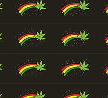 Rainbow Smiling Cannabis - #Cannabis by jaffrywardjr