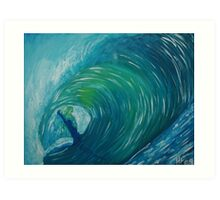 Andrew's Wave Art Print