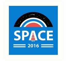 Vote For Space Art Print
