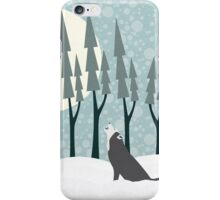 The Wolf Month iPhone Case/Skin