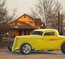 1934 Ford 3 Window Coupe by DaveKoontz
