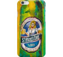 St. Pauli Girl iPhone Case/Skin