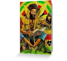Irie Meditiation Greeting Card