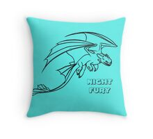 HOW TO TRAIN YOUR DRAGON - NIGHT FURY 01 Throw Pillow