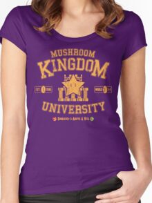 University 1-1 Women's Fitted Scoop T-Shirt