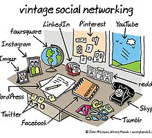 vintage social networking by WrongHands