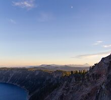 Moonrise Over the Rim by Lyaksandr Prelle-Tworek