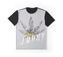 Cannabis leaf Cosmic Junky Graphic T-Shirt