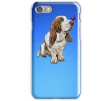 Basset Hound & Butterfly iPhone Case / Cover iPhone Case/Skin