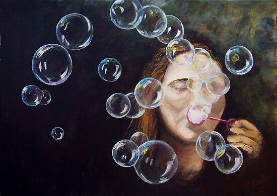 Wishing Bubbles by Elisabeth Dubois