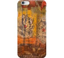 The Mad Hatter and the Cheshire Cat iPhone Case/Skin