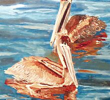 A Pair of Browns by Jim Phillips