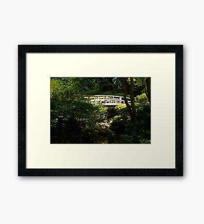Bridge of Peace Framed Print