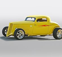 1934 Ford Coupe II by DaveKoontz