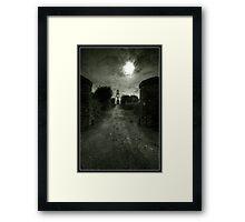 Manx Church Framed Print