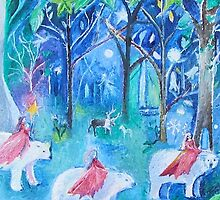 Polar Bears and Princesses by RomanySteele