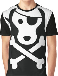 Pirate Dog  Graphic T-Shirt