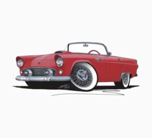 Ford Thunderbird Red by Richard Yeomans