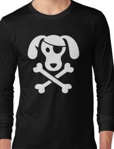 Pirate Dog  Long Sleeve T-Shirt