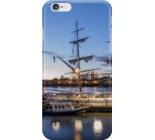 Sunset on the tall ships iPhone Case/Skin