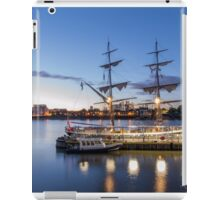 Sunset on the tall ships iPad Case/Skin