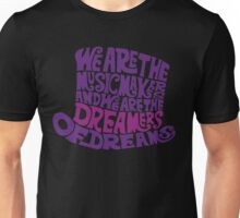 Willy Wonka Hat Dreams - Purple Unisex T-Shirt