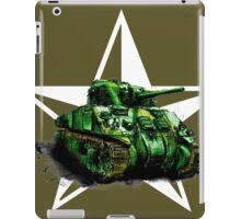 WW2 Sherman Army Tank iPad Case/Skin