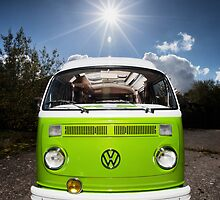 Camper & Bus by Steve Sharp