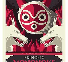 Princess Mononoke by UniqSchweick12