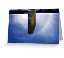 Rainbow Sky In Broad Daylight One - 02 12 12 Greeting Card