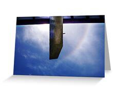 Rainbow Sky In Broad Daylight One - 02 12 12 Greeting Card